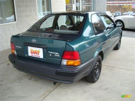 1995 Toyota Tercel Dx 1995 Green Metallic Toyota Tercel Dx Sedan