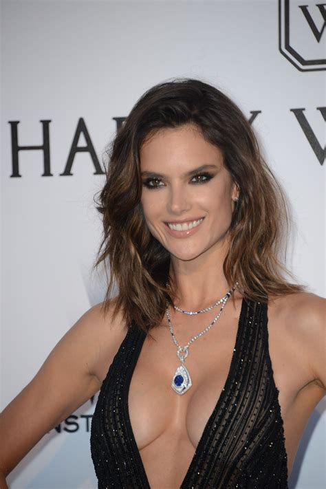 Alessandra Ambrosio by Alessandra Ambrosio At Amfar S 24th Cinema Against Gala At