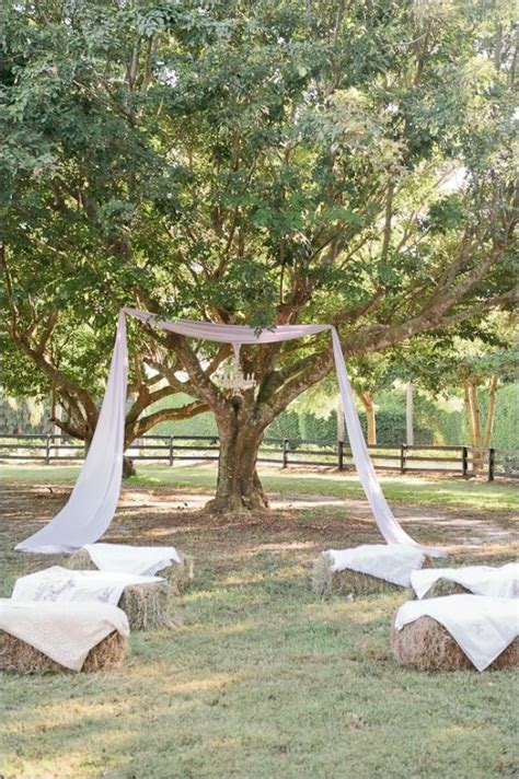 Backyard Country Wedding Ideas by 25 Best Ideas About Rustic Wedding Ceremonies On