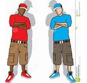 Street Gangsters Stock Vector  Image 49276457