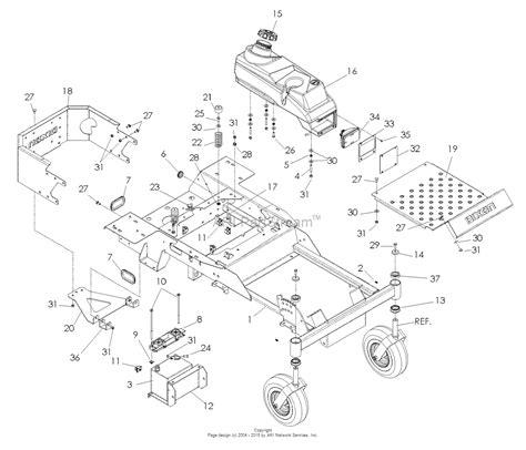 44 parts diagram dixon ram mag 44 honda 968999559 2008 parts diagram