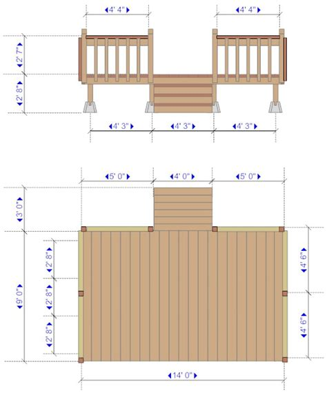 Deck Floor Plan | floor plan with deck 12 x 16 deck plans deck floor plan