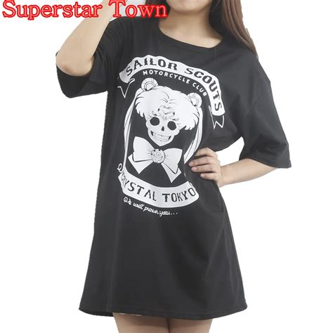 anime t shirts anime gifts art posters more harajuku shirt anime sailor moon gothic t shirt lolita