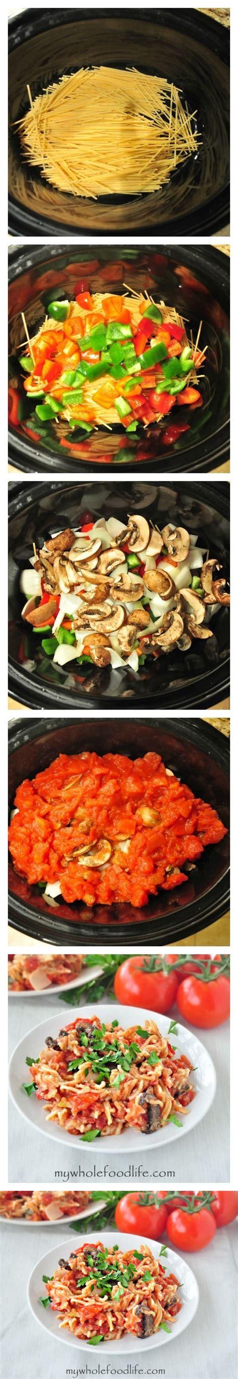 vegetables in crock pot crock pot spaghetti vegetables