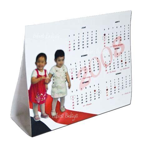 calendario mesa photoshop calend 225 rio de mesa personalizado imprimir e brinde