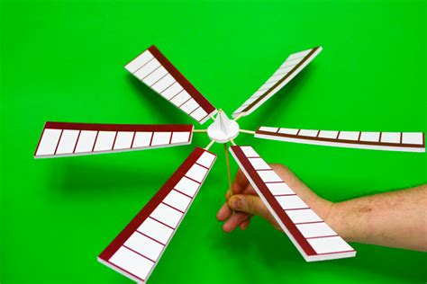 Windmill Papercraft - how to make a windmill model with a printable pattern
