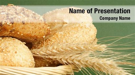 powerpoint themes bread bread and wheat powerpoint templates bread and wheat