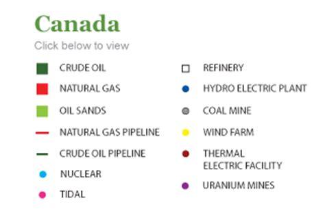 canadian map legend canada map legend