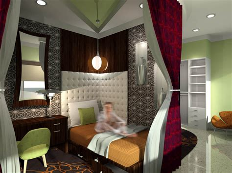 bedroom themes for college students two ringling college interior design students win 2012