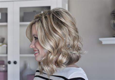 short soft waves wavy angled bob kate mazur mazur mazur smallthingsblog