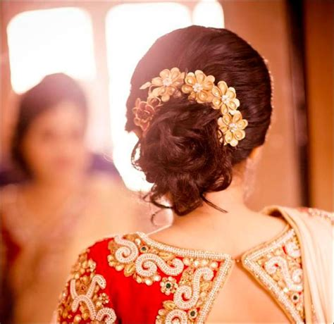 Hindu Wedding Hairstyles For Hair by Hindu Bridal Hairstyles 14 Safe Hairdos For The Modern