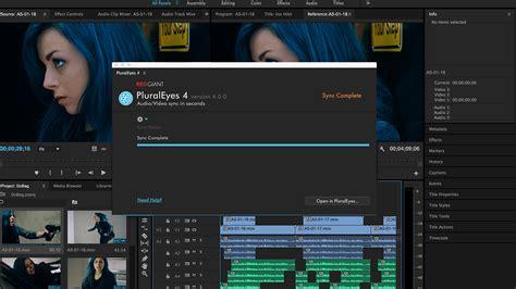 adobe premiere pro quiz red giant pluraleyes 4 0 hands on tutorial in premiere pro