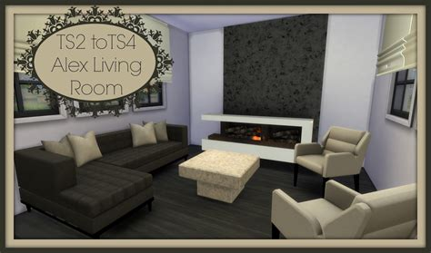 the livingroom sims 4 ts2 to ts4 alex living room dinha
