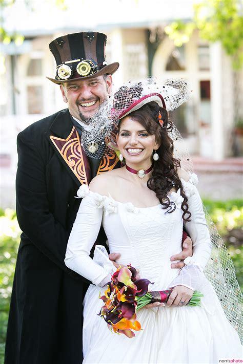 steampunk wedding norrisphoto