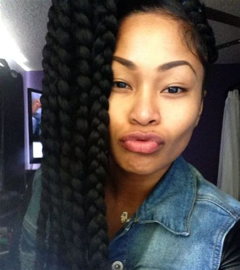 thick single plaits with extensions style 30 best box braids hairstyles herinterest com