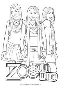 teen nick colouring pages