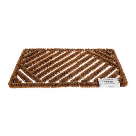 Coir And Rubber Doormat - coir rubber door mat indoor outdoor use large wrought iron