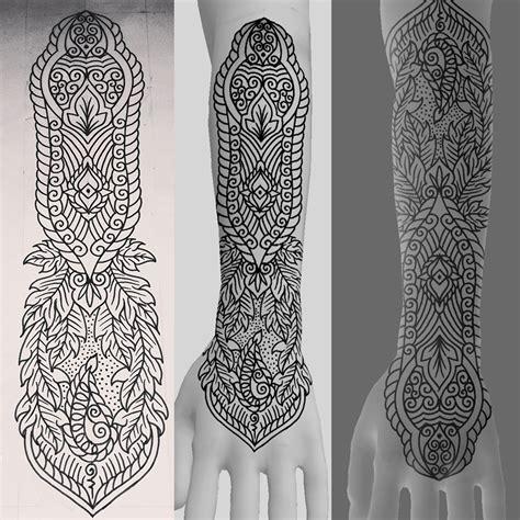 mehndi ornament tattoo design by genotas on deviantart