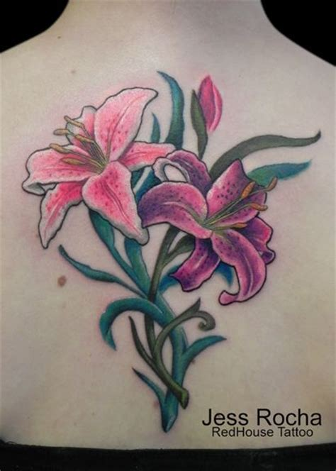 stargazer lily tattoos pretty stargazer lilies tattoos