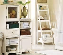 Bathroom decor ideas use ladder shelves for storage amazing inspiring