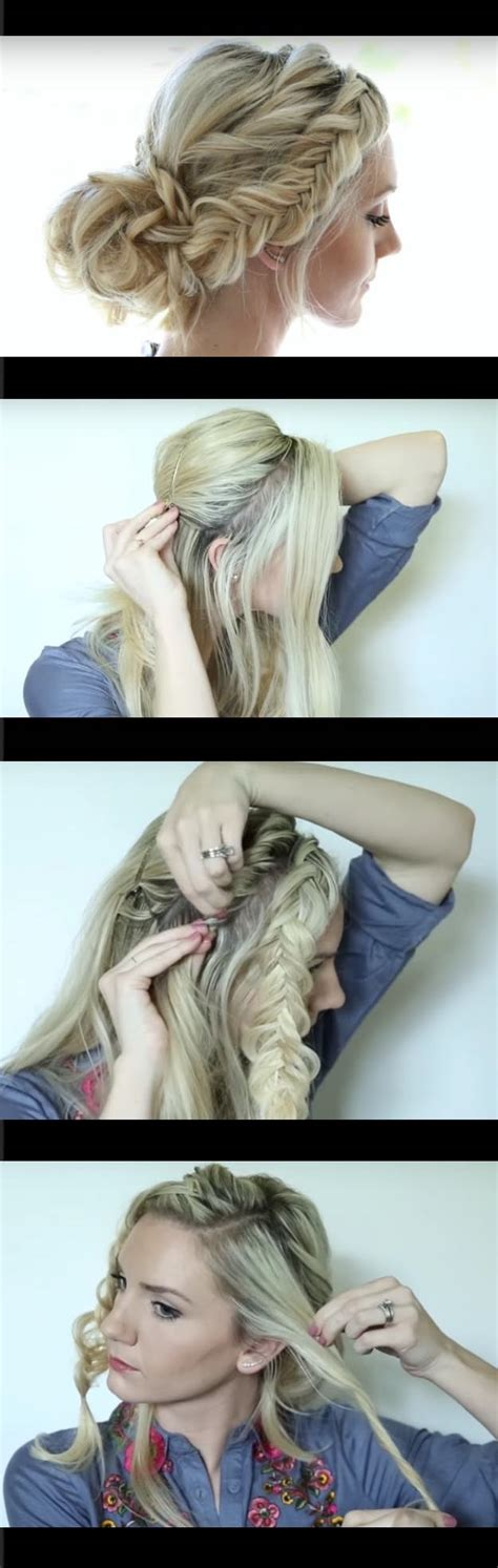 quick and easy romantic hairstyles 33 quick and easy hairstyles for straight hair the goddess