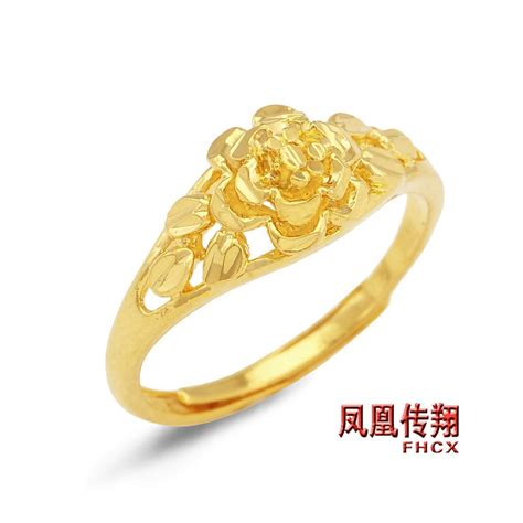 Women s ring ring ring gold plated flowers female ring wedding ring