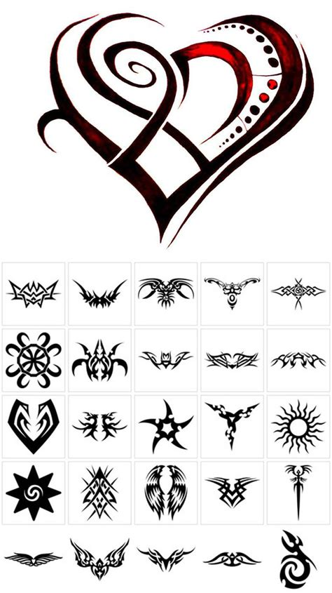 tribal tattoos with meanings half sleeve design strength symbol