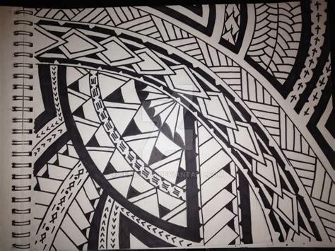 samoan poly design by settarts on deviantart