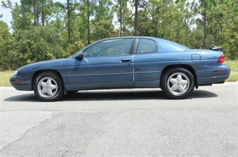 1996 chevrolet monte carlo z34 purchase used 1996 chevrolet monte carlo z34 coupe 2 door