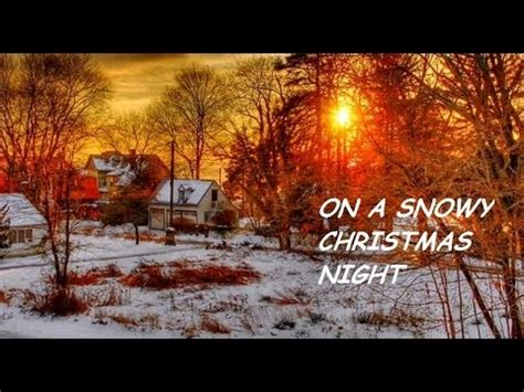 elvis presley   snowy christmas night hd youtube