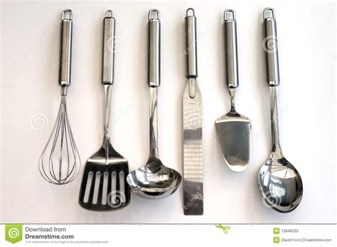 Kitchen Utensils Gadgets List Kitchen Tools Stock Photos Image 13848333