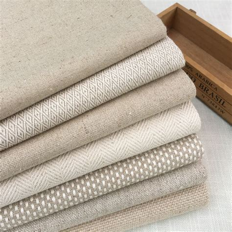 eco friendly upholstery fabric contemporary heavy linen cotton fabric natural woven