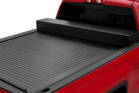 truck bed covers with tool box tool box tonneau covers roll up folding hinged