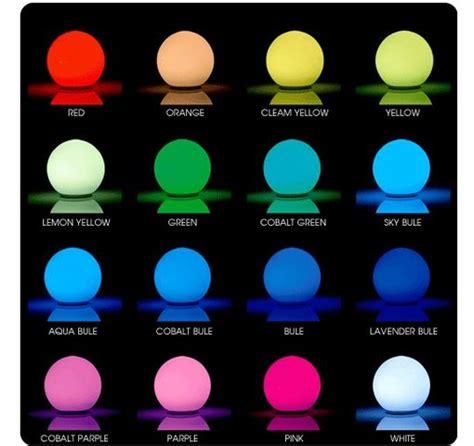 sfera ufficio affidabile sfera led luminosa rgb cambia colore lada da tavolo