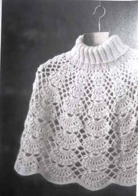 patrones de tejido gratis chaleco tejido en redondo patron para hacer poncho tejido a crochet gratis