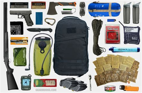 53 essential bug out bag supplies how to build a suburban go bag you can rely upon books bug out bag bob the arsenal project