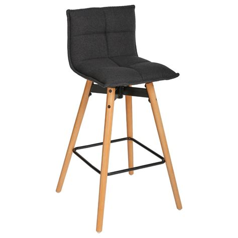 Tabouret De Bar Gris by Tabouret De Bar Gris Atiel En Tissu Atmosphera