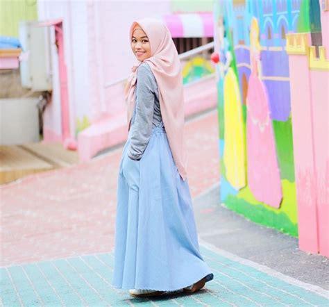 busana muslim masakini 24 tren model baju muslim masa kini 2017 2018 model baru