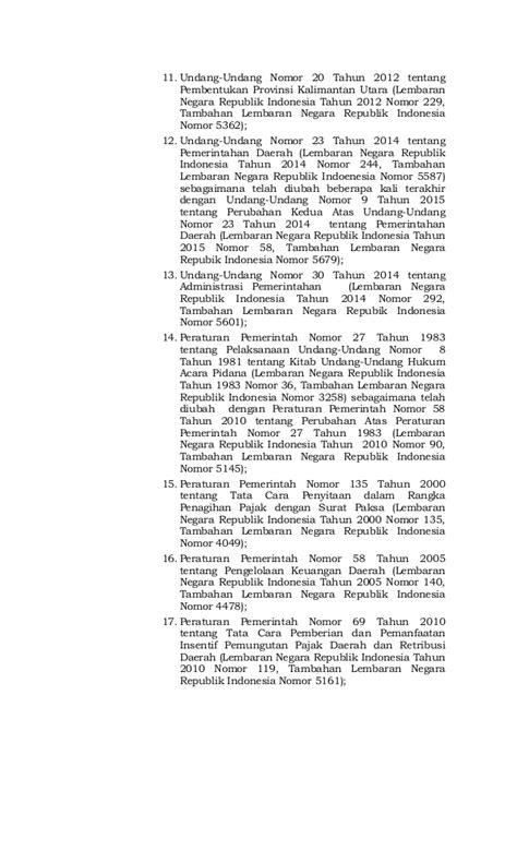 Uuri 12 Thn 2011 Pembentukan Peraturan Perundang Undangan perda perubahan perda no 18 thn 2013 pbb