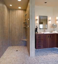 Ideas For Doorless Shower Designs Doorless Showers How To Pull The Look