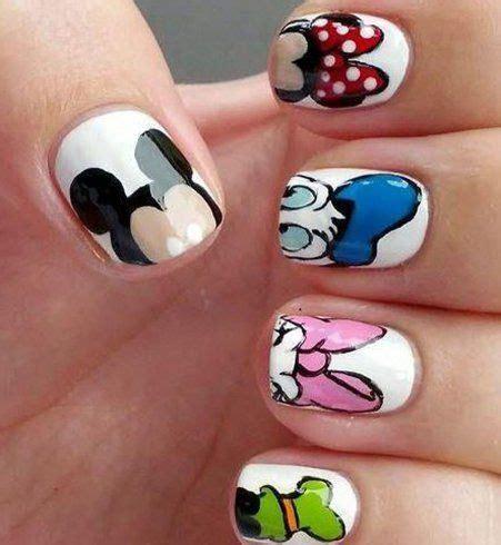 Dessin Sur Ongle by Les 25 Meilleures Id 233 Es Concernant Ongles Disney Sur