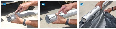 awning tube repair rv awning roller tube repair keep your cool rv awning repair