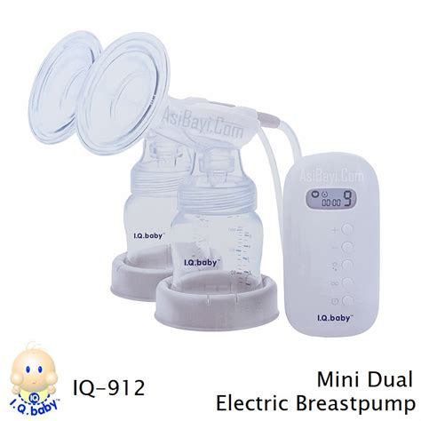 Iq Baby Electrik Breastpump Pompa Asi Mini Ringkas Ekonomis iq baby 912 mini dual electric breastpump bisa murah