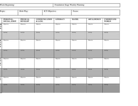 short term planning preschool by jennyz1231 teaching