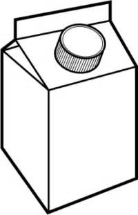 Outline Picture by Milk Outline Picture Clipart Best