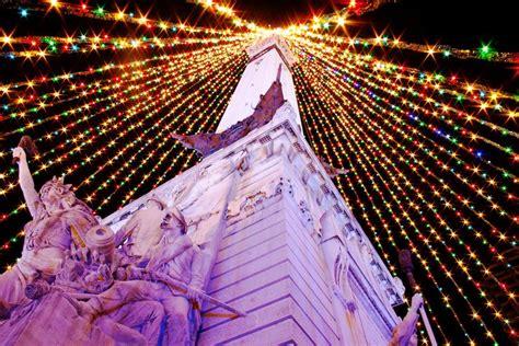 indianapolis tree lighting 2017 decorations indianapolis indiepedia org