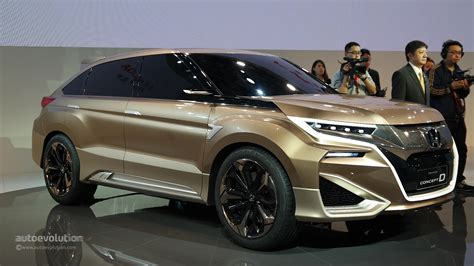 crossover honda dongfeng honda concept d previews china only crossover at