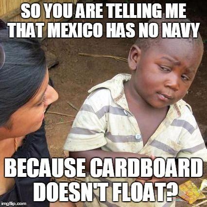 Skeptical Kid Meme - third world skeptical kid meme imgflip