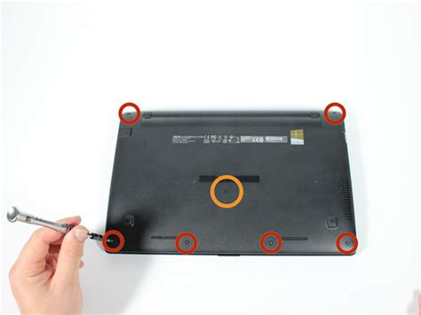 Asus Laptop Take Out Battery asus x200ma battery replacement ifixit