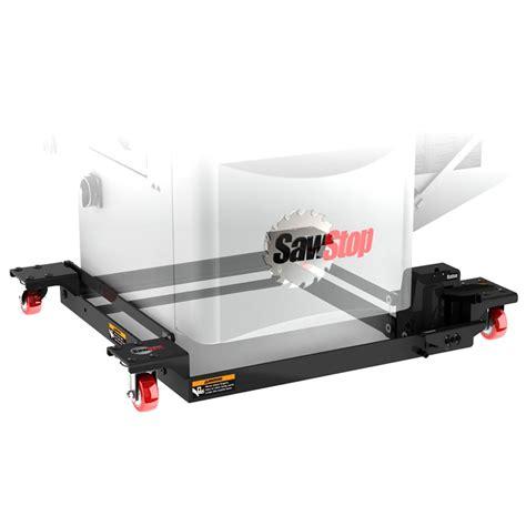 sawstop mobile base  industrial cabinet